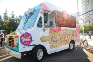 ice cream truck mobile advertising