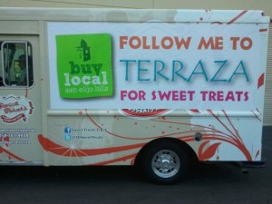 Promotional Advertising Food Truck