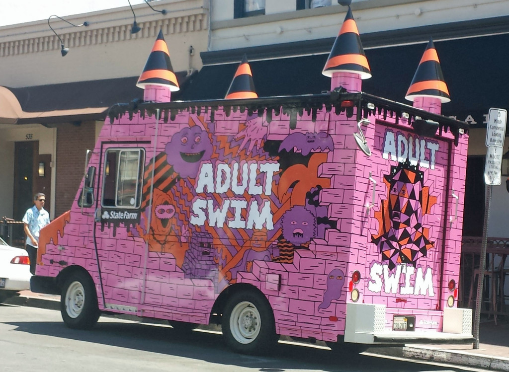 Mobile Advertising Ice Cream Truck