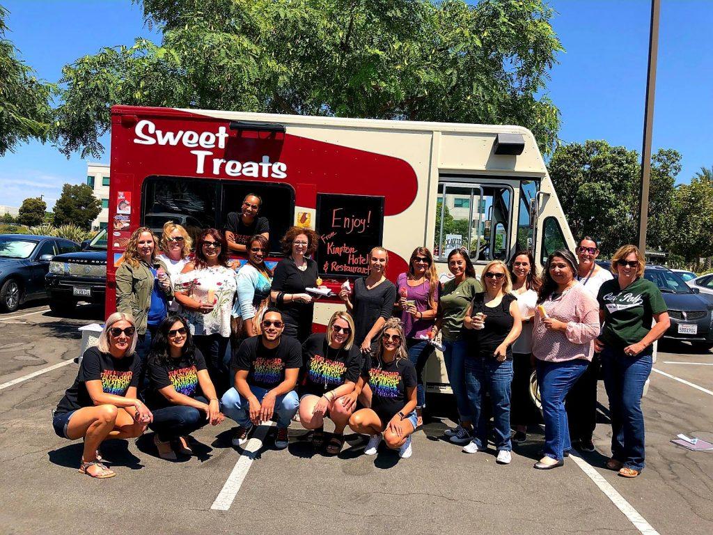 sweet treats ice cream truck party california